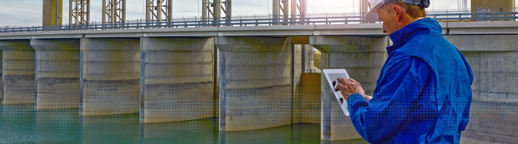 Soluções - Serviços públicos de água