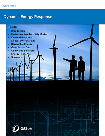 Energy Management Requires a Streaming Data and Event Infrastructure