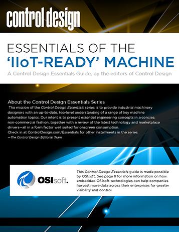Control Design: Essentials of the 'IIoT-Ready' Machine